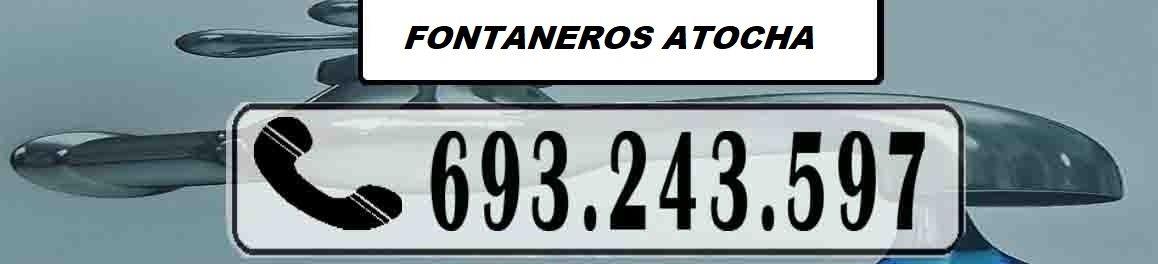 Fontaneros Atocha Madrid Urgentes
