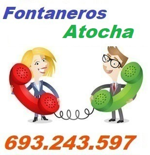 Telefono de la empresa fontaneros Atocha