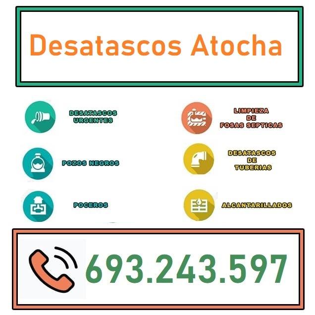 Desatascos Atocha